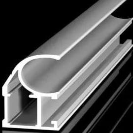 Эффекты на алюминиевом профиле