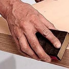 Шлифование древесных материалов