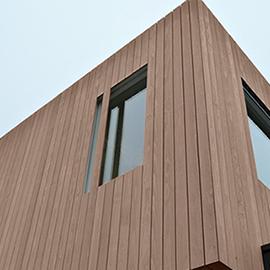 Красота древесины Accoya в современной архитектуре